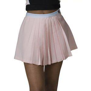 Fila Pleated Patty Tennis Skort Light Pink XL NEW